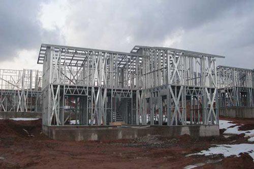 Здания на основе облегчённого металлического каркаса в Ангарске